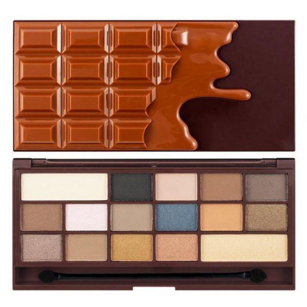 پالت سایه شکلاتی رولوشن مدل caramel