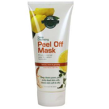 ماسک چسبی لیمو و نعناع و جنسینگ هالیووداستایل ۱۵۰ میل