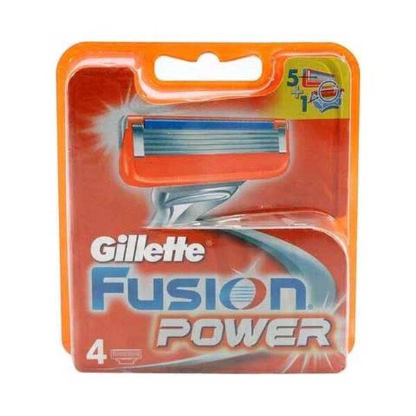 تیغ یدک ۴ عددی ژیلت مدل Fusion Power