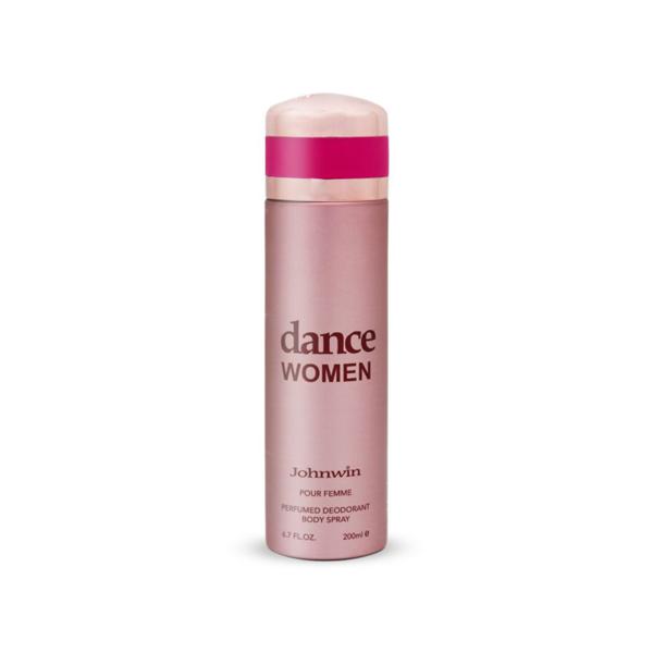 اسپری دئودورانت زنانه جانوین مدل Dance Women